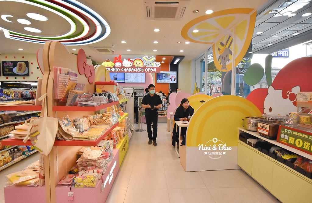 kitty &X-Store台中三麗鷗聯名7-11商店05