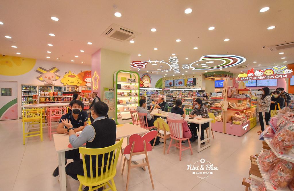 kitty &X-Store台中三麗鷗聯名7-11商店03