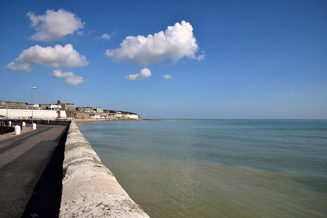 The eastern harbour arm Ramsgate.