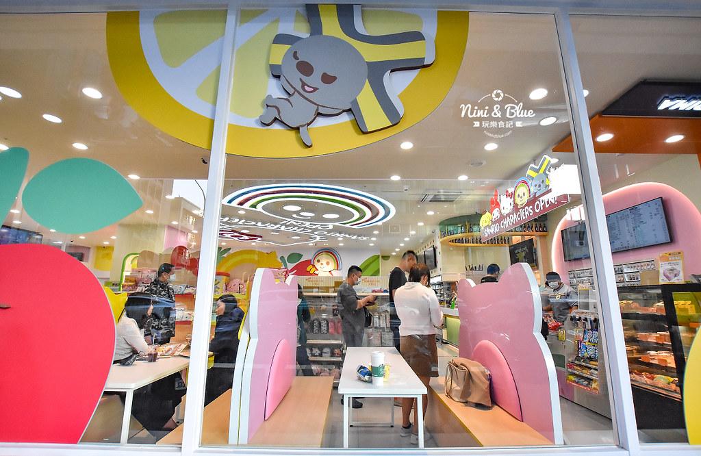 kitty &X-Store台中三麗鷗聯名7-11商店27