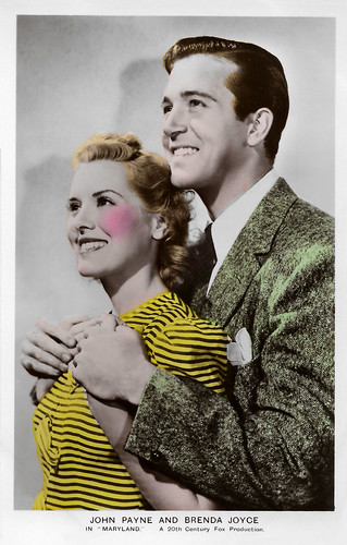 John Payne and Brenda Joyce in Maryland (1940)