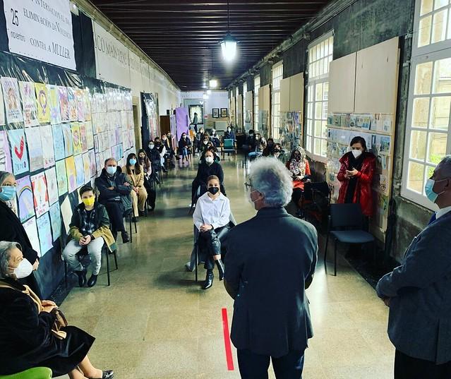 Entrega de premios - II Certame Escolar de Podcasts en Galego Xosé Mosquera Pérez