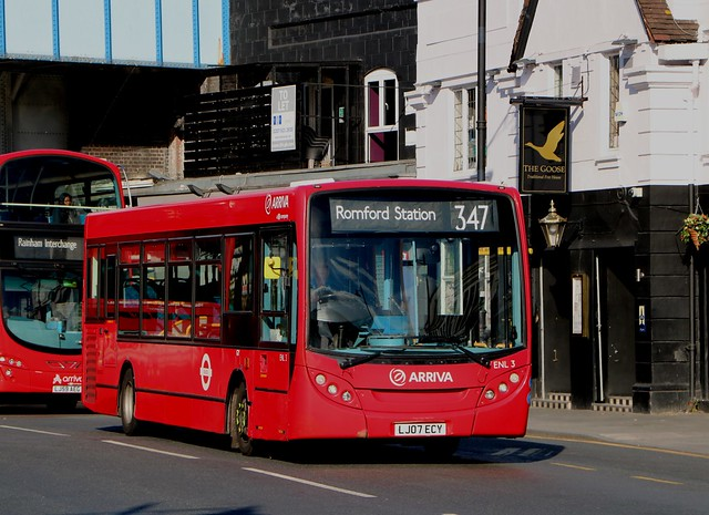 Arriva London - ENL3 - LJ07ECY