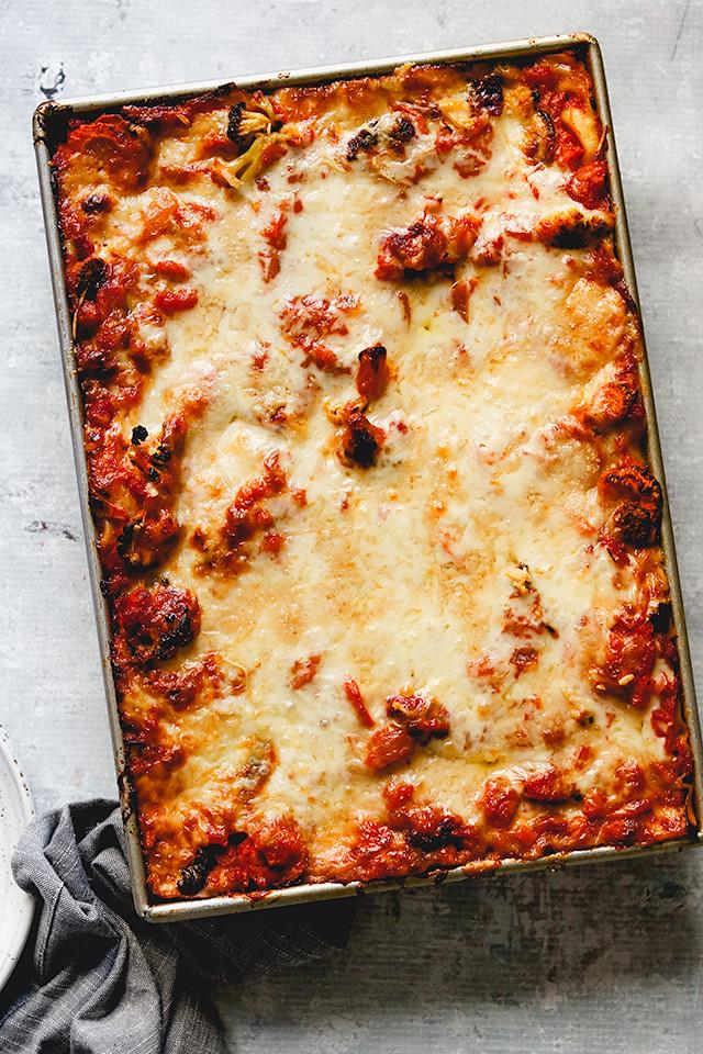 Roasted Winter Vegetable Lasagna