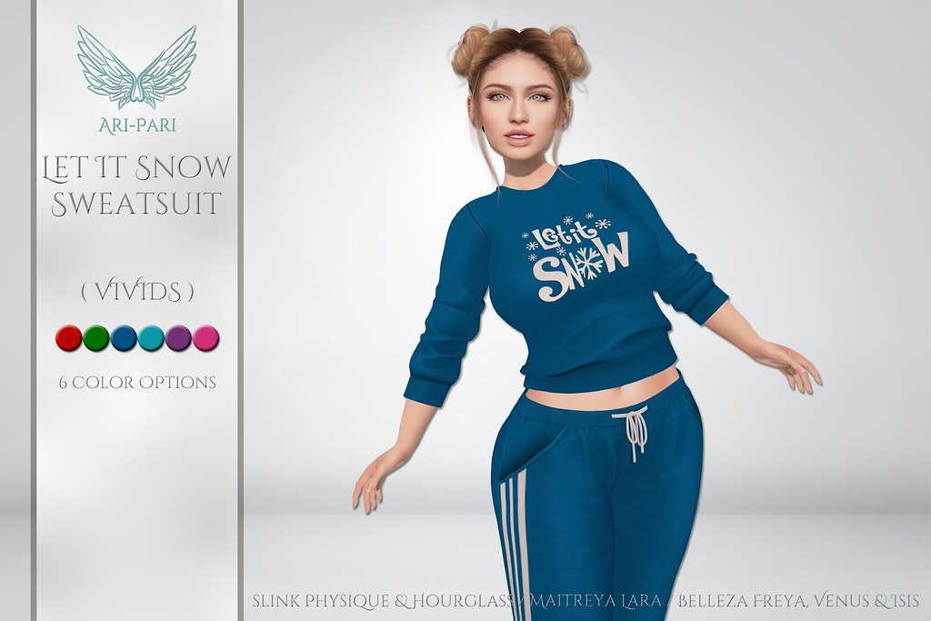 [Ari-Pari] Let It Snow Sweats – Vivids