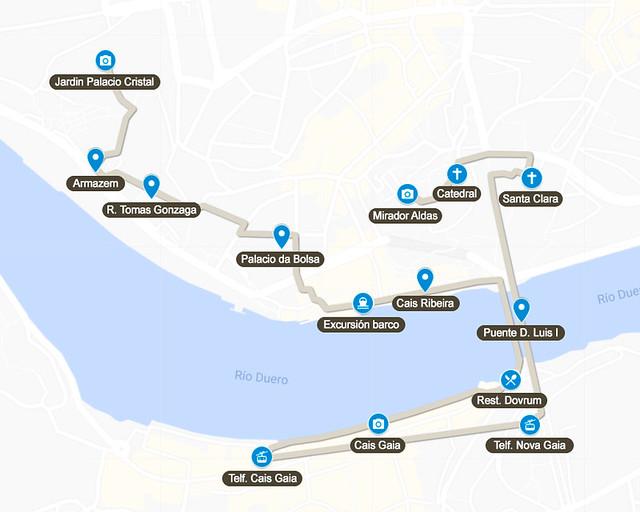 Día 1 de la ruta de 3 días por Oporto
