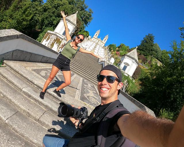 Braga y el Bom Jesus do Monte en Portugal