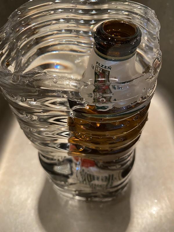 ビールのラベルはがし_10