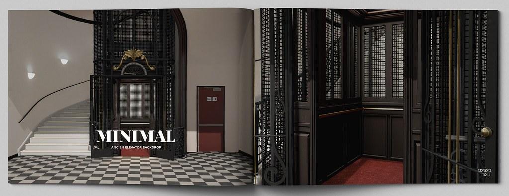 MINIMAL – Ancien Elevator Backdrop