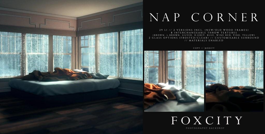 FOXCITY. Photo Booth – Nap Corner