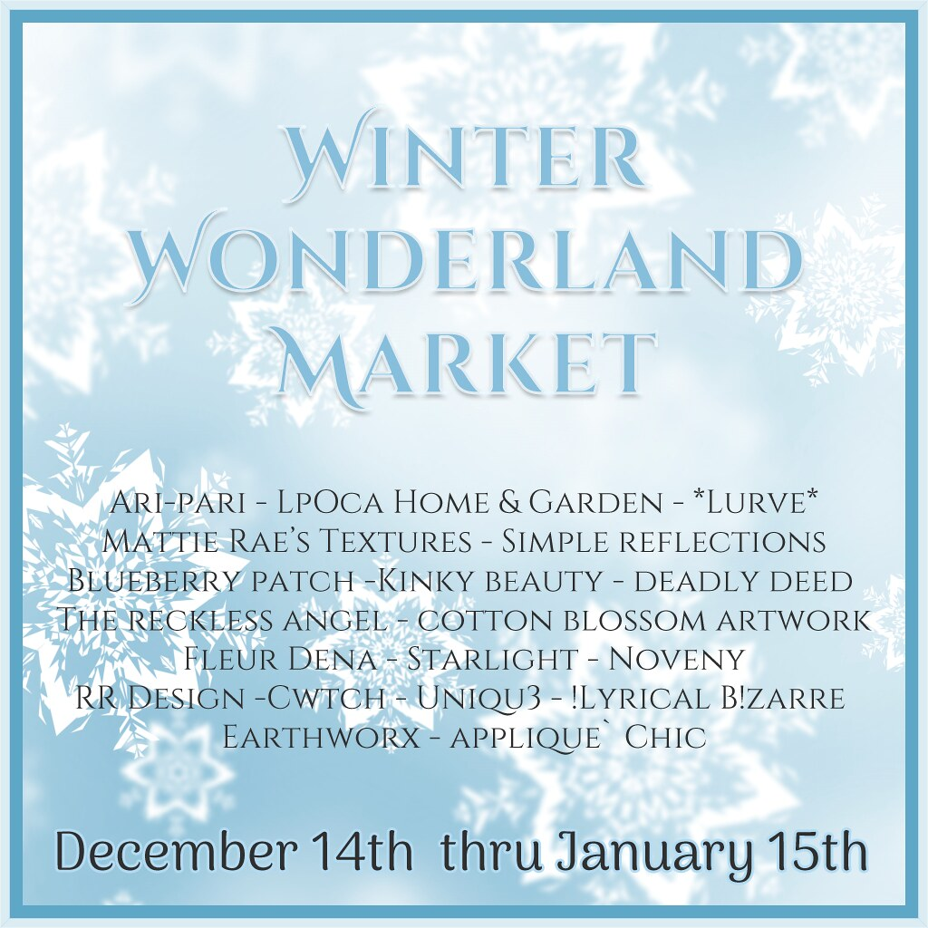 Winter Wonderland Market
