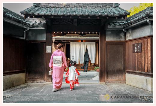 興正寺で七五三のロケーション撮影 茶室も利用可能!