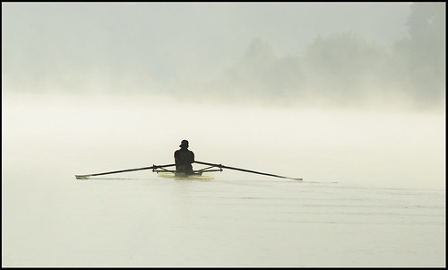 The misty rower