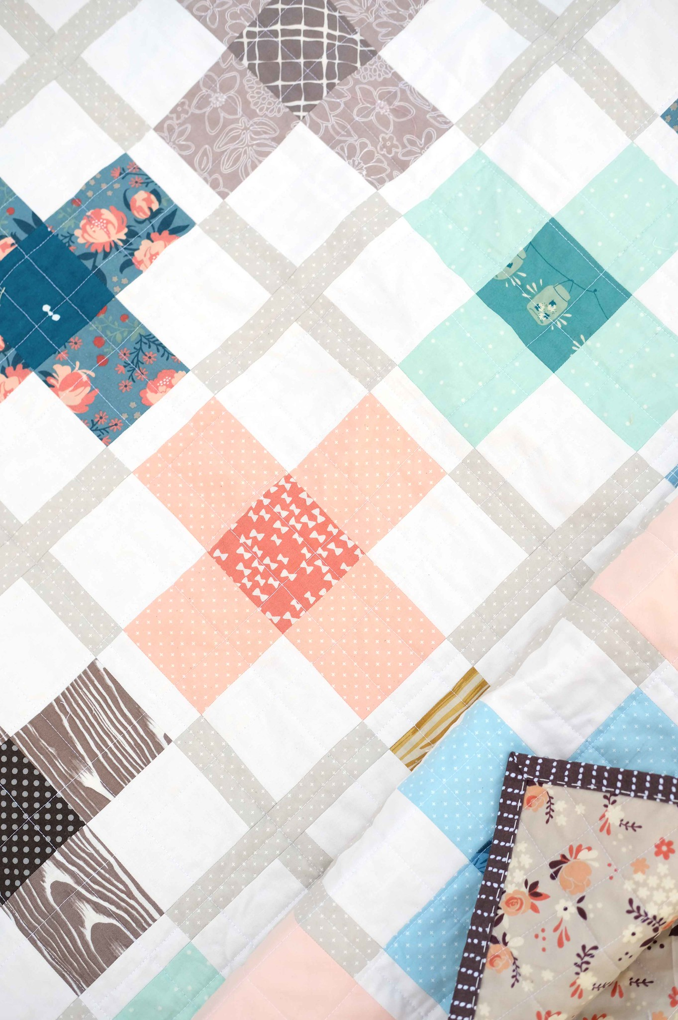 The Ruth Quilt (Muted Version) - Kitchen Table Quilting