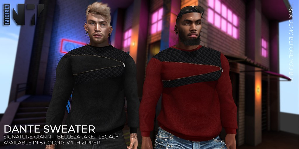NERO – DANTE SWEATER