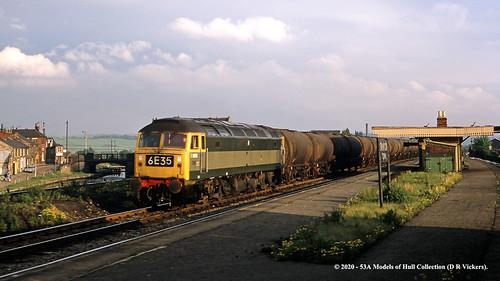 britishrail brush type4 class47 d1999 47297 diesel freight swinton southyorkshire train railway locomotive railroad