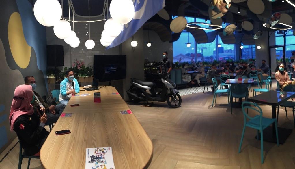 Yamaha GEAR 125 diperkenalkan di Palembang
