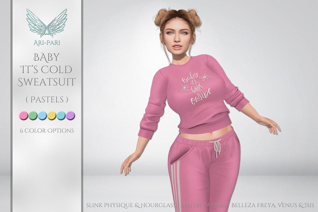 [Ari-Pari] Baby It's Cold Sweats – Pastels