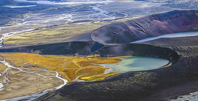 Veiðivötn lakes, Iceland