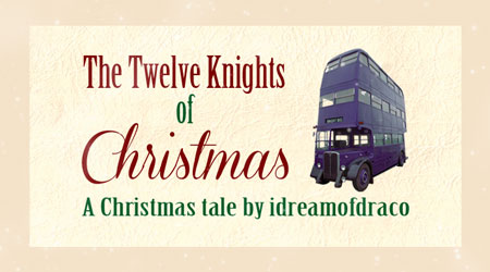 The Twelve Knights of Christmas Banner