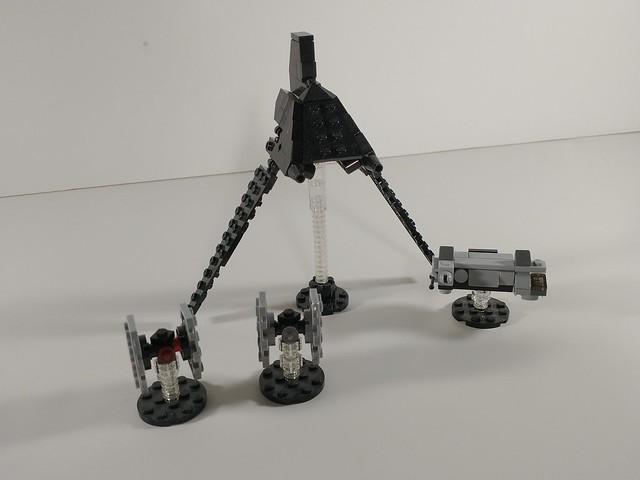 1-250 Lego Star Wars MOCs so far