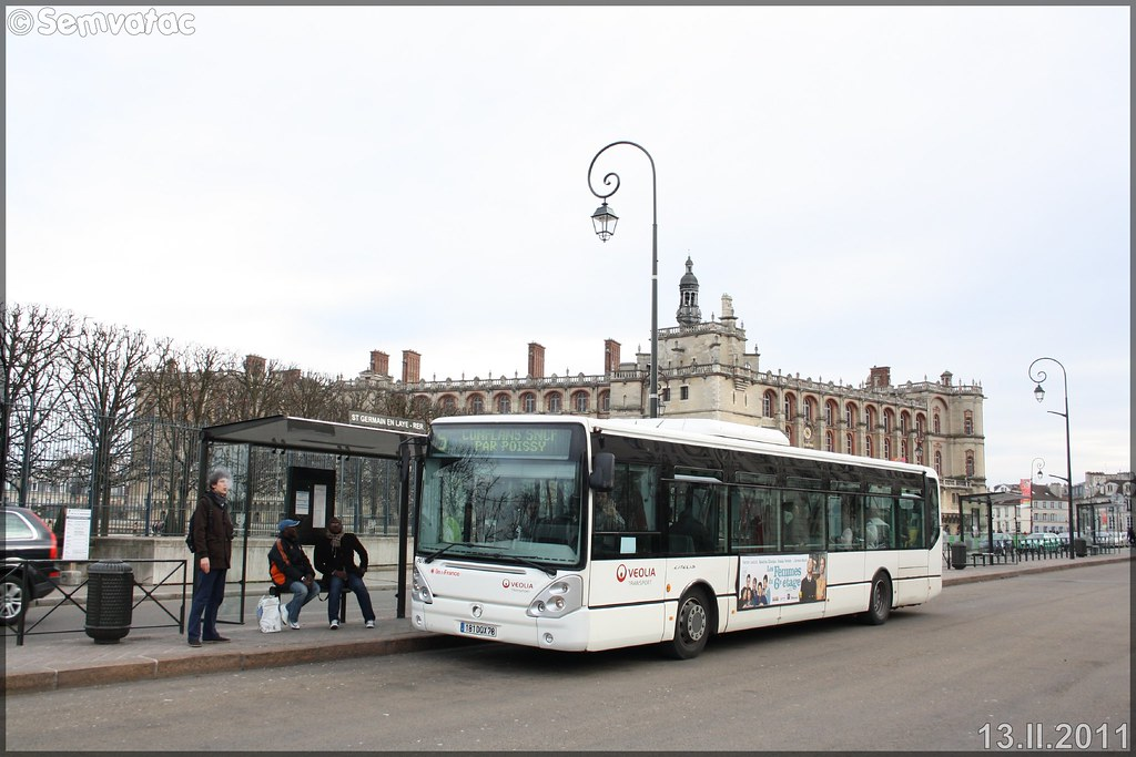 Irisbus Citélis Line – Véolia Transport – Établissement de Conflans-Sainte-Honorine  / STIF (Syndicat des Transports d'Île-de-France) n°6010