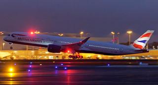 Delivery Flight msn446 G-XWBH 14/12/2020