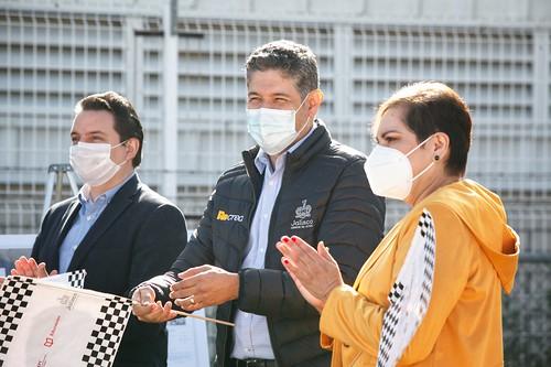 14 Dic 2020 . Secretaría de Educación . Banderazo a la construcción de pista de maniobras en IDEFT en el municipio de Tlajomulco.