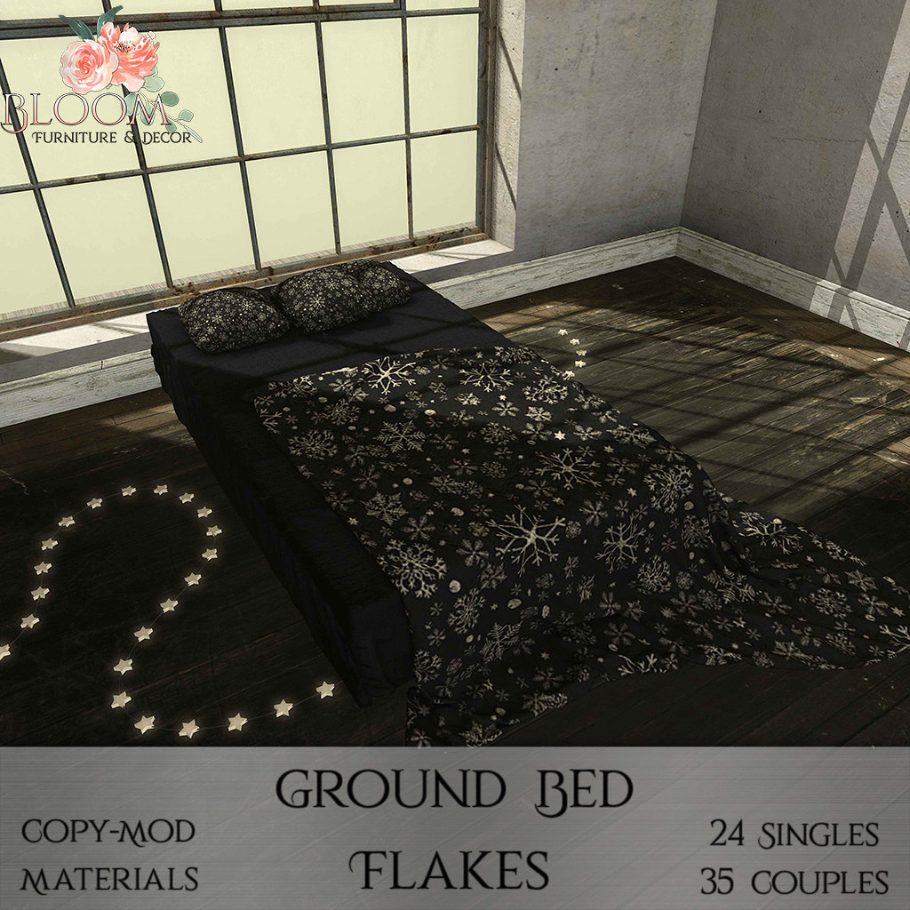 Bloom! – Ground Bed Flakes (PG)AD