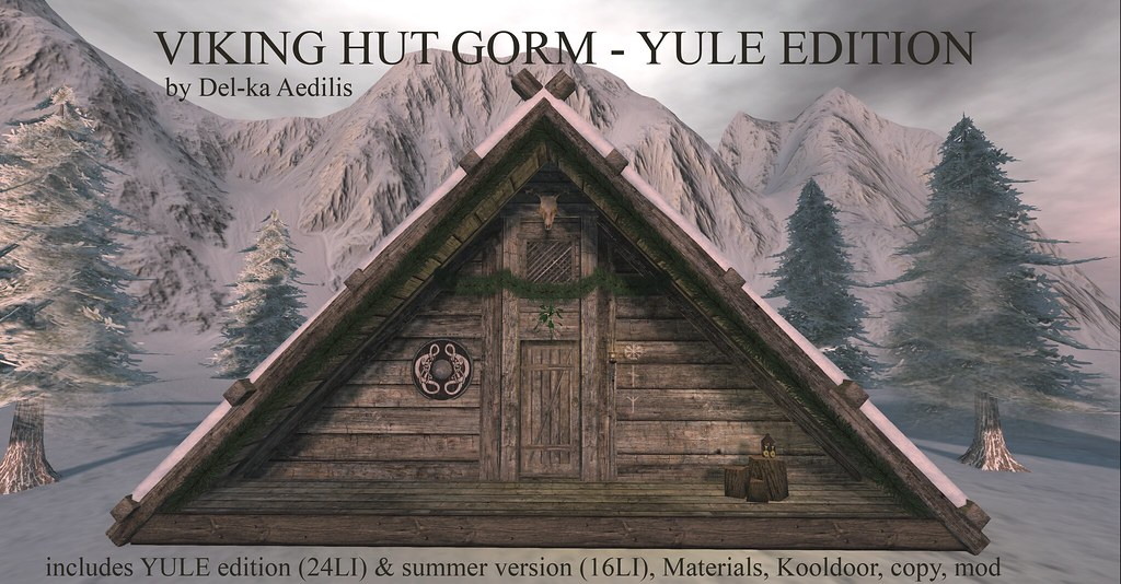 Viking Hut Gorm – Yule Edition