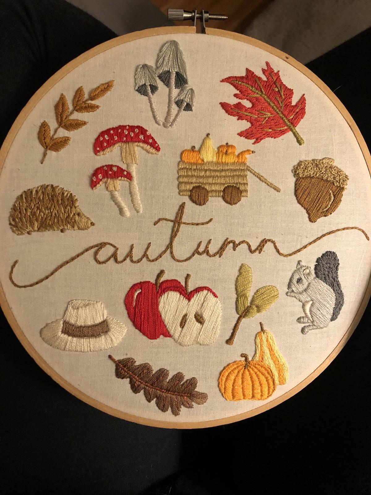 Autumn stitch-a-long