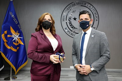 Secretario interino Chad Wolf visita Panamá.