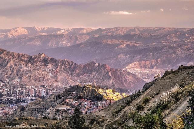 La Paz Sur desde Pampahasi