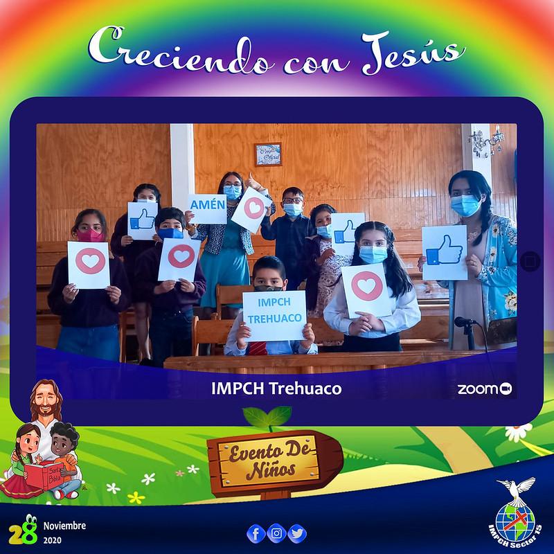 Culto en evento de Niños Sector 15