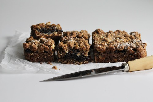 mincemeat-oatmeal bars