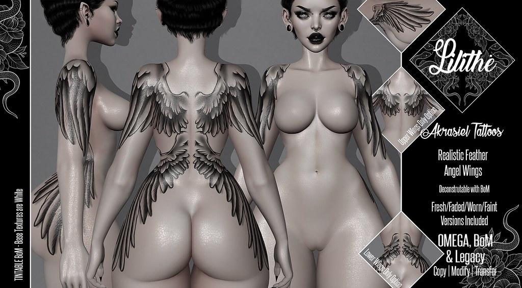 Lilithe'// Akrasiel Tattoos @ SATURNALIA