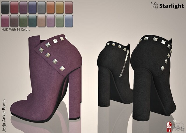 :: SA :: Jorja – Ankle Boots with HUD