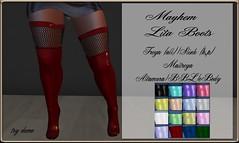 Mayhem Lita Boots AD