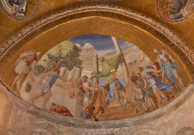 Detail, St. Marks - Venice