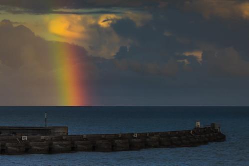 brighton rainbow brightonmarina seafront harbour breakwater harbourarm seascape seaside sussex england uk canon 80d 70200mmf4lis