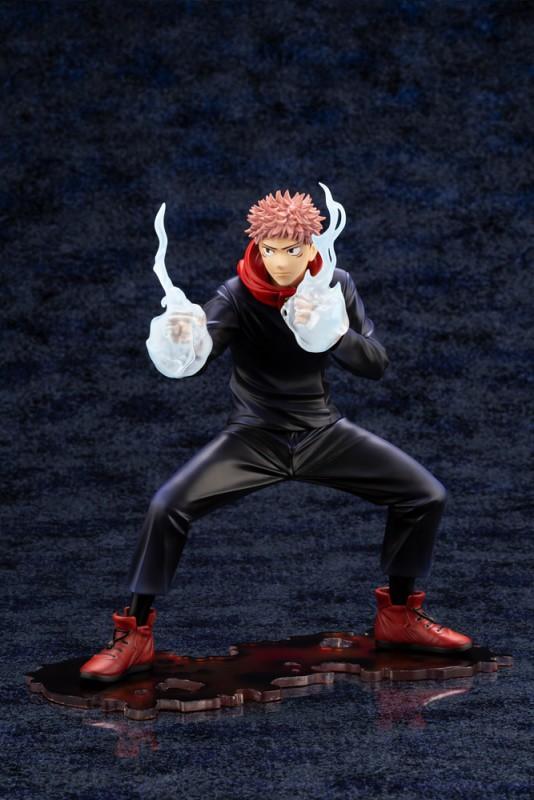 壽屋ARTFX J《咒術迴戰》虎杖悠仁 1/8比例模型 準備迎擊的戰鬥姿態!