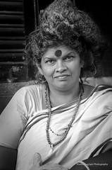 A woman devotee