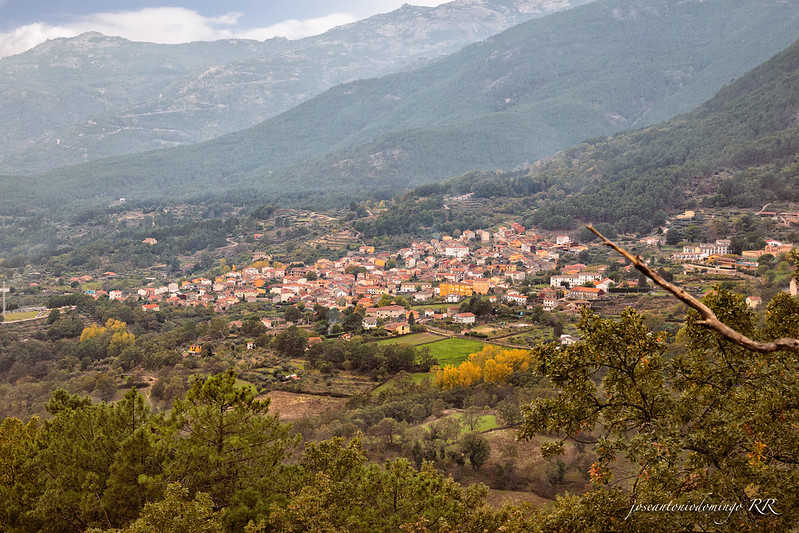 Vista desde Guisando (Ávila)