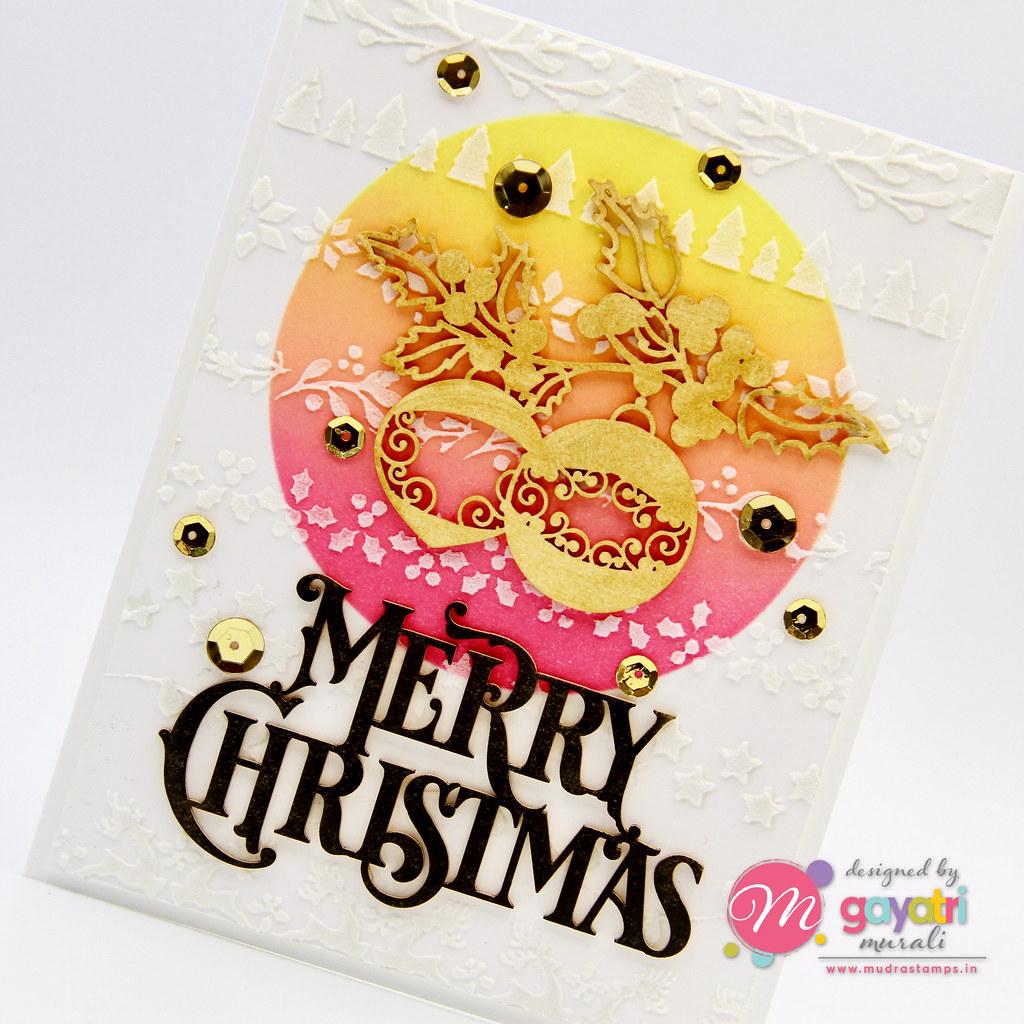 Merry Christmas card #2 closeup1