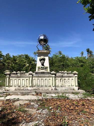 Monument MacArthur op Pulau Zum Zum