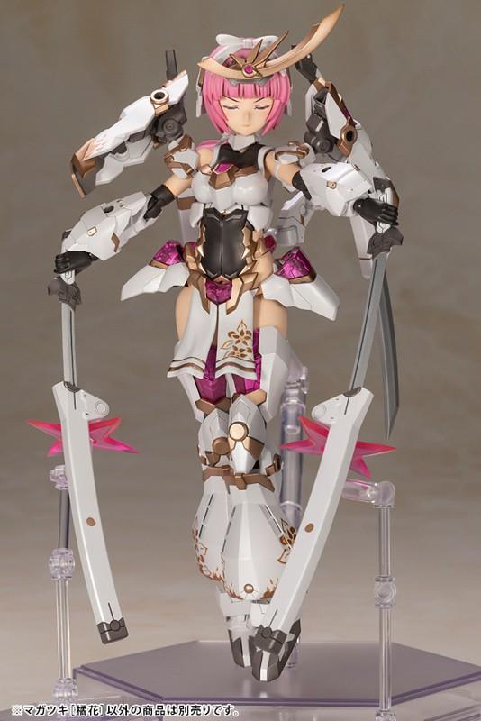 壽屋『骨裝機娘 禍月[橘花]』明年06月發售 純白的女忍者造型登場!
