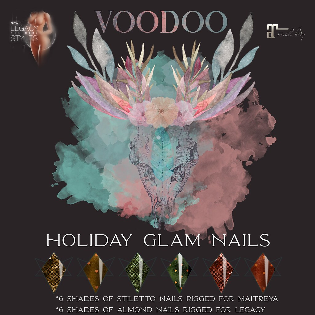 Voodoo – Holiday Glam Nail Gift
