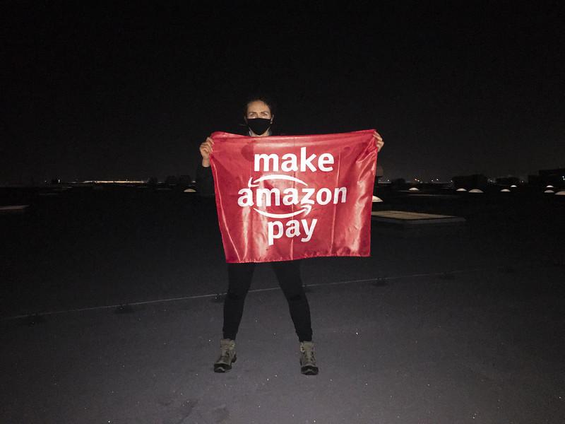 Niech Amazon zapłaci za szkody dla ludzi i klimatu!
