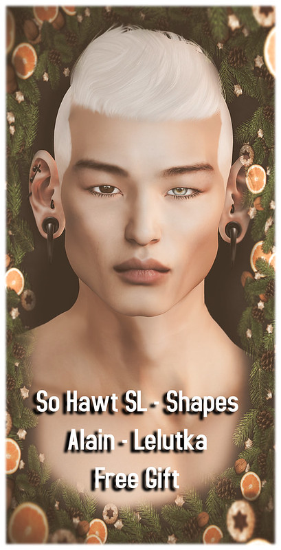 So Hawt SL - Shapes - Alain - Lelutka