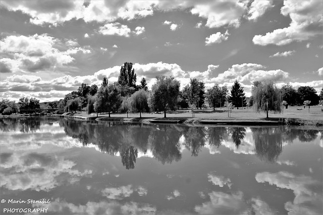 Karlovac, Croatia - Clouds all over the river Korana...